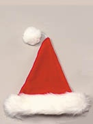 red-plush-santa-hat
