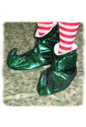 green-lame-elf-slippers